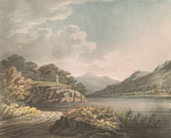 Port of Llanberris Lake and Dolbadern Castle
